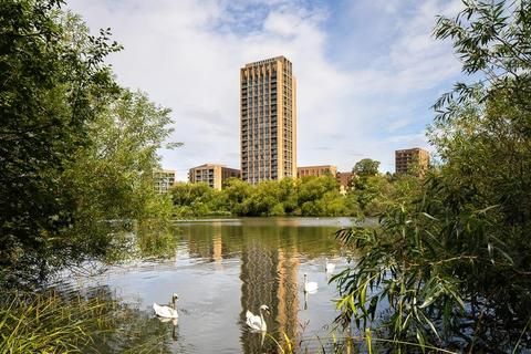 Barratt London - Hendon Waterside - Plot 43, Violet Apartments at Millbrook Park, Bittacy Hill, Mill Hill, LONDON NW7