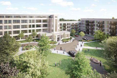 Barratt London - Hayes Village - Plot 474, Syon Apartments at High Street Quarter, Alexandra Road, Hounslow, HOUNSLOW TW3