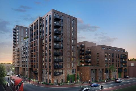 Barratt London - New Market Place - Plot A202, 1 Bedroom Flat at Ilford Works, Roden Street Ilford IG1