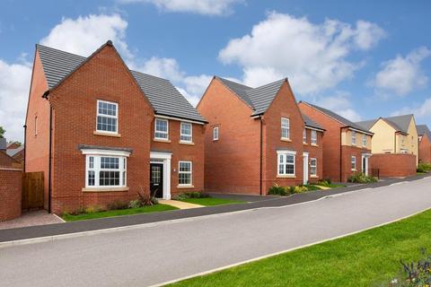 David Wilson Homes - Newton's Place - Plot 155, BRENTFORD at Newton's Place, Barrowby Road, Grantham, GRANTHAM NG31