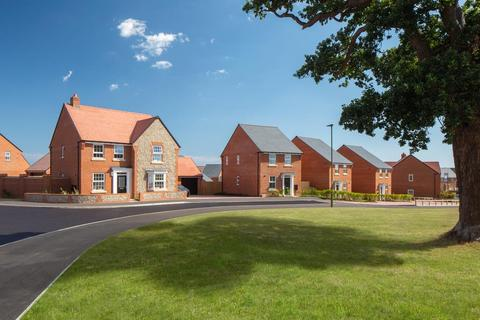 David Wilson Homes - Madgwick Park - Plot 87, The Mountford at Minerva Heights, Old Broyle Road, Chichester, West Sussex PO19
