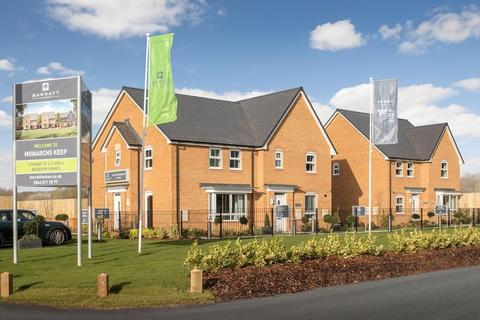 Barratt Homes - Monarchs Keep - The Byford - Plot 49 at Kestrel Park, Bursledon Road, Bursledon SO31