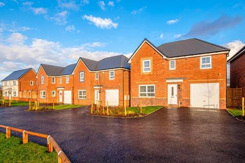 Barratt Homes - Holly Blue Meadows - The Flatford - Plot 71 at Fallows Heath, Milestone Way WS7