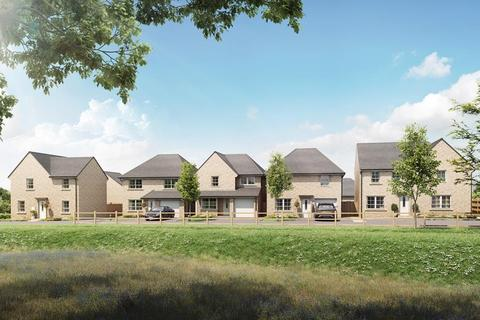 Barratt Homes - Helme Ridge, Meltham - Plot 50, Maidstone at Weavers Chase, Golcar, Grange Road, Golcar, HUDDERSFIELD HD7