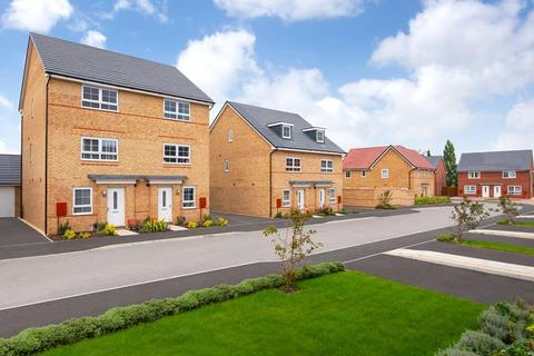 Barratt Homes - City Heights - Plot 198, FOXTON SPECIAL at New Lubbesthorpe, Tay Road, Lubbesthorpe, LEICESTER LE19
