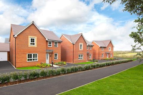 Barratt Homes - Mickleover - Plot 1028, Mitford at Highfields Phase 2B, Rykneld Road, Littleover DE23