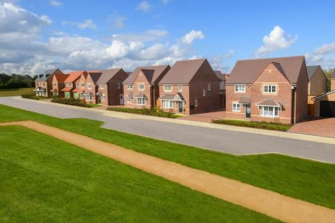 Barratt Homes - Lake View at Priors Hall Park - Plot 42, Camberley at Lyveden Fields, Livingstone Road, Corby, CORBY NN18