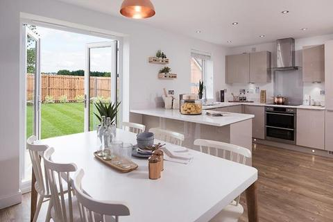 Barratt Homes - North Gosforth Park - Plot 14, The Austen  at Hemingway Court, Hemingway Court, Thornhill Road NE20