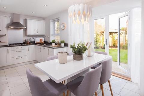Barratt Homes - Merrington Park - Plot 591, Norbury at Burton Woods, Rosedale, Spennymoor, SPENNYMOOR DL16