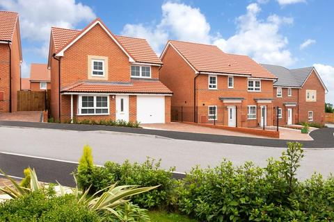 Barratt Homes - City Edge - Plot 14, The Austen  at Hemingway Court, Hemingway Court, Thornhill Road NE20