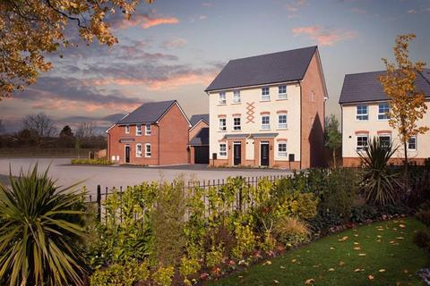 Barratt Homes - J One Seven - Plot 120, Alderney at Somerford Reach, Black Firs Lane, Somerford, CONGLETON CW12