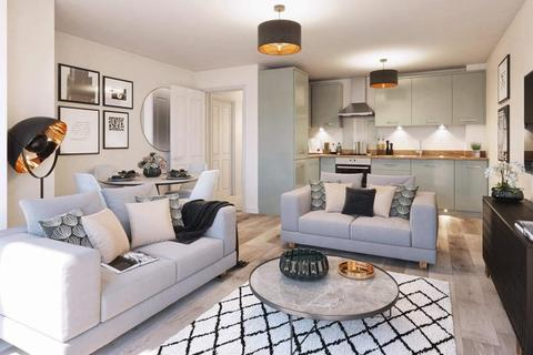 Barratt Homes - Westburn Gardens, Cornhill - Plot 29, Tay 2 apartment at Riverside Quarter, 1 River Don Crescent, Bucksburn AB21