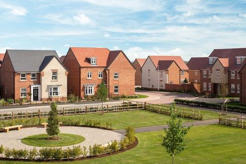 David Wilson Homes - Fernwood Village - The Laurel at The Foresters at Middlebeck, Bowbridge Lane, Newark On Trent NG24