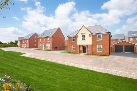David Wilson Homes - Woburn Downs - The Alton - Plot 569 at The Leys at Willow Lake, Stoke Road MK17