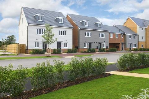Barratt Homes - Woburn Downs - The Alton - Plot 569 at The Leys at Willow Lake, Stoke Road MK17