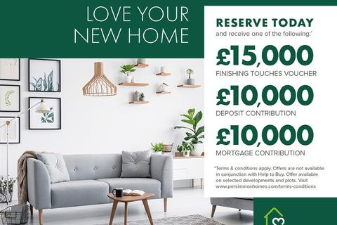 Persimmon Homes - Acorn Court - Plot 50-o, The Hanbury at Norton Gardens, Junction Road, Norton TS20