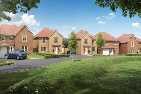 Barratt Homes - Elwick Gardens - Plot Fifteen - 5 bedroom detached house for sale with huge leisure room, Thetford at Coniscliffe Rise, Coniscliffe Road, West Park TS26