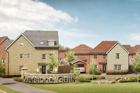 Barratt Homes - Barratt at Overstone Gate - Plot The Huxford - 24, The Huxford - Plot 24 at Glenvale Park, Land off Niort Way NN8