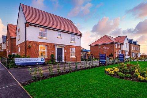David Wilson Homes - Beaumont at Warwick Gates - Plot 18, Wolverley at Montgomery Grange, Arras Boulevard, Hampton Magna CV35