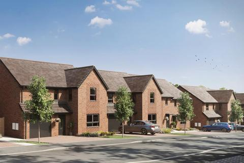 Barratt Homes - Glenvale Park - Plot The Huxford - 24, The Huxford - Plot 24 at Glenvale Park, Land off Niort Way NN8