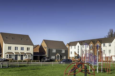 Keepmoat - The Scholars at Academics, Peterborough - Plot 380, The Sidbury at Roman Fields, Peterborough, Manor Drive PE4