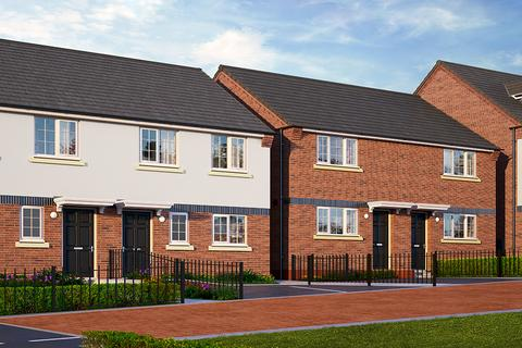 Keepmoat - Lyme Gardens Phase 2, Stoke On Trent - Plot 106, HERTFORD at The Village at Wedgwood Park, Wedgwood Drive, Barlaston, STOKE-ON-TRENT ST12