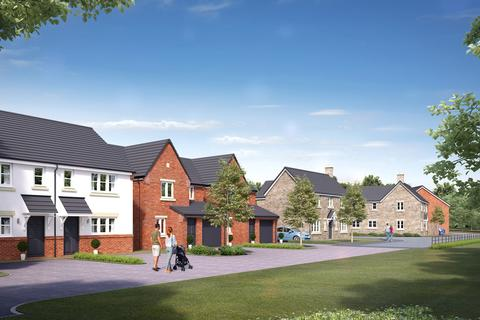 Keepmoat - Gynsill Gate, Anstey - Plot 196, FOXTON SPECIAL at New Lubbesthorpe, Tay Road, Lubbesthorpe, LEICESTER LE19