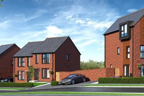 Keepmoat - Brearley Forge, Sheffield - The Easedale - Plot 90 at Fusion at Waverley, Highfield Lane, Waverley S60