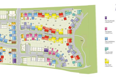 Bovis Homes - The Maples - Plot 203-o, The Hatfield at Forge Wood, Steers Lane RH10