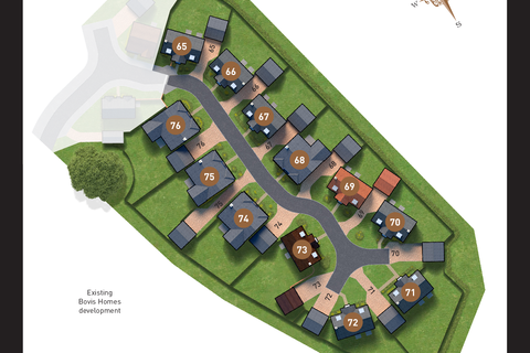 Bovis Homes - Kings Reach and Salston Grange - Plot 150, The Derwent at Cranbrook, Galileo, Birch Way, Cranbrook EX5