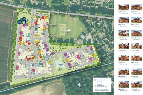 Bovis Homes - The Pavilions - Plot 93, Fairfield at Montgomery Grange, Arras Boulevard, Hampton Magna CV35