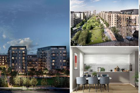 Berkeley - Southall Waterside - Plot 474, Syon Apartments at High Street Quarter, Alexandra Road, Hounslow, HOUNSLOW TW3