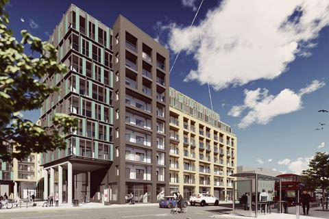 Home Group - RUBIX - Plot 474, Syon Apartments at High Street Quarter, Alexandra Road, Hounslow, HOUNSLOW TW3