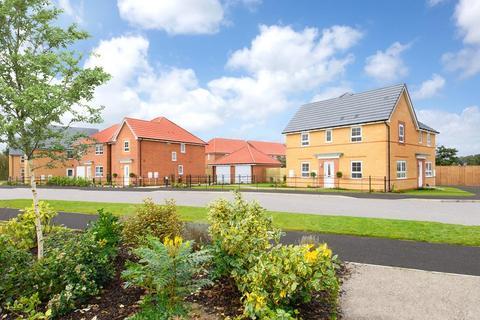 Barratt Homes - Fleet Green, Hessle - Plot 266, Millford at Hesslewood Park, Jenny Brough Lane, Hessle, HESSLE HU13