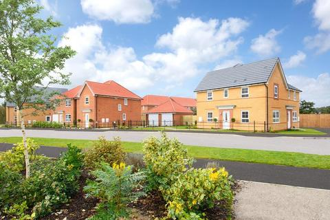 Barratt Homes - Fleet Green, Hessle - Plot 38, The Ilkley at Tranby Park, Beverley Road, Anlaby HU10