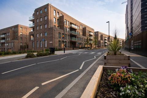 Bellway Homes - Fielders Quarter - Plot A202, 1 Bedroom Flat at Ilford Works, Roden Street Ilford IG1