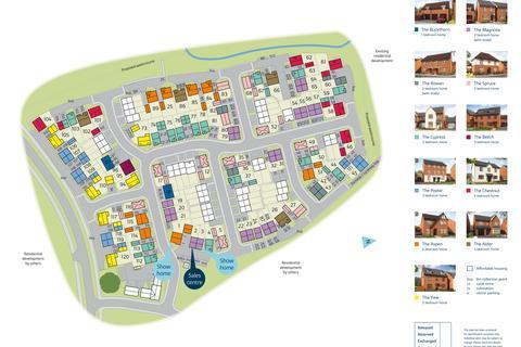 Bovis Homes - Regency Grange - Plot 20, Stanford at Montgomery Grange, Arras Boulevard, Hampton Magna CV35