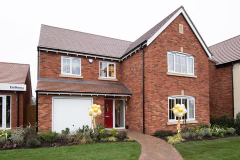Bellway Homes - Baswich Grange - Plot 63, Melbourne at Willow Grange, Marston Lane, Marston ST16