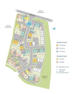 Bovis Homes - Cherry Fields - Plot 188, The Denbury at Montbray, Montbray, Barnstaple, Devon EX31