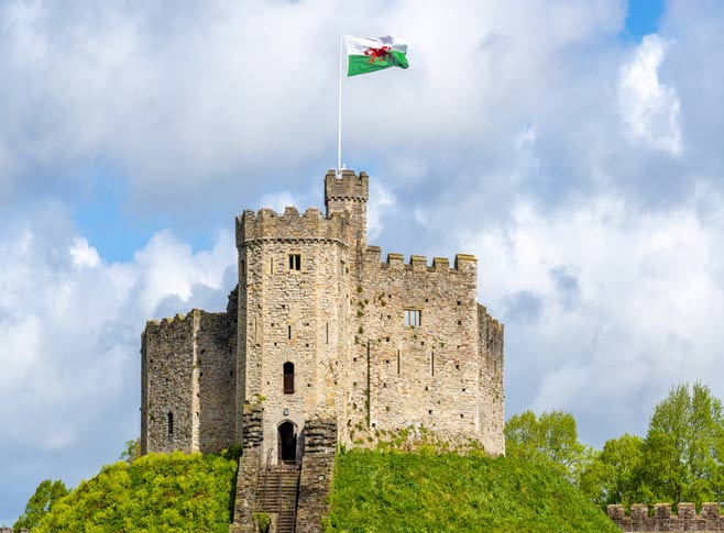 The Norman Keep, Cardiff Castle