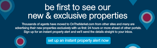 OnTheMarket.com Sign Up For a Property Alert