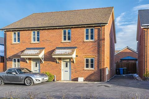 2 bedroom semi-detached house for sale - Harvest Close, Weldon, Corby, Northamptonshire
