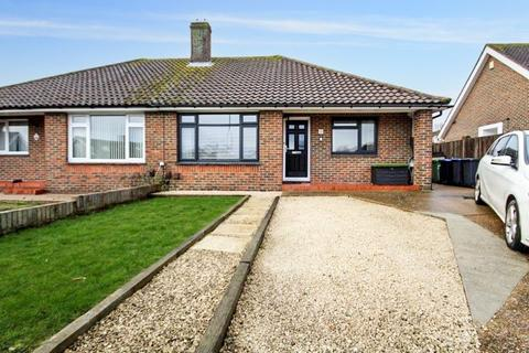 2 bedroom semi-detached bungalow for sale - Plantation Rise, Worthing BN13 2AH