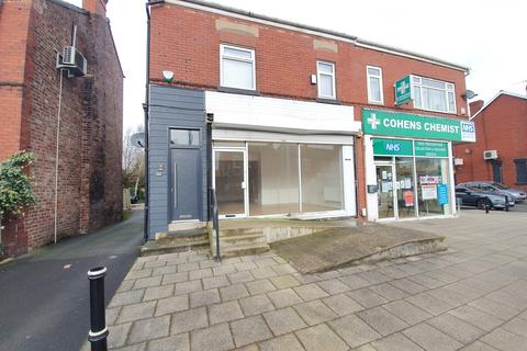 Retail property (high street) to rent - Stockport Road, Stockport, Cheshire, SK3