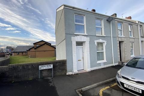 3 bedroom end of terrace house for sale - Zion Row, Llanelli