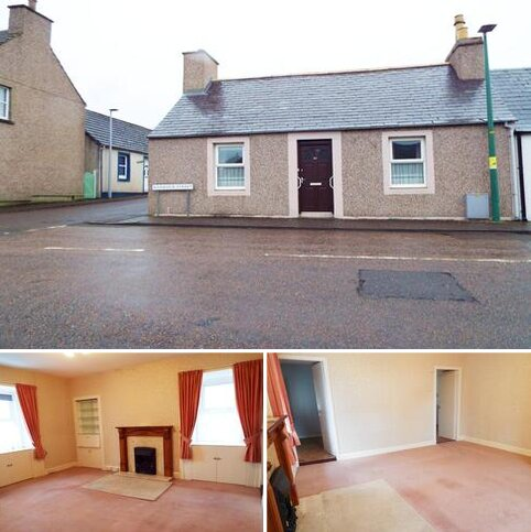 3 bedroom terraced bungalow for sale - 29 Barrock Street, Thurso, Caithness KW14 7DE