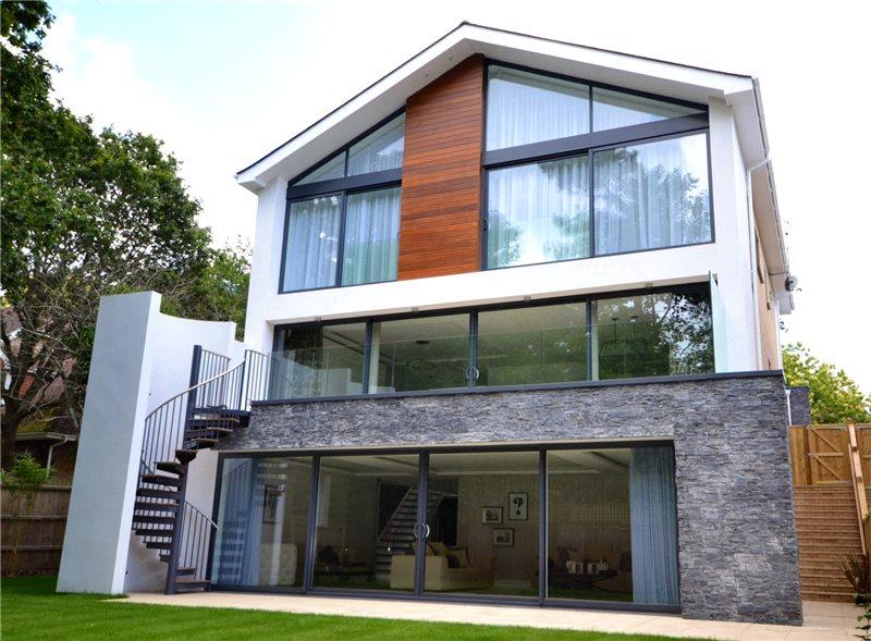 4 Bedrooms Detached House for sale in Lakeside Road, Branksome Park, Poole, Dorset, BH13