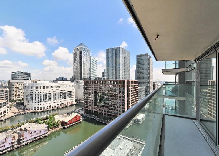 Canary Wharf Balcony