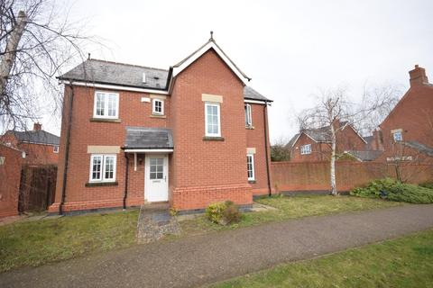 4 bedroom detached house for sale - With Parking & Garage - Hawfinch Green, Desborough, Kettering