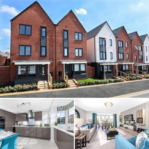 4 bedroom terraced house for sale - Plot 142, Hythe at Fairfields, Vespasian Road, Fairfields, MILTON KEYNES MK11